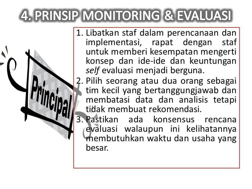 Sistem monitoring indikator kinerja diperlukan untuk meningkatkan serta mempertahankan tingkat kinerja yang bermutu.