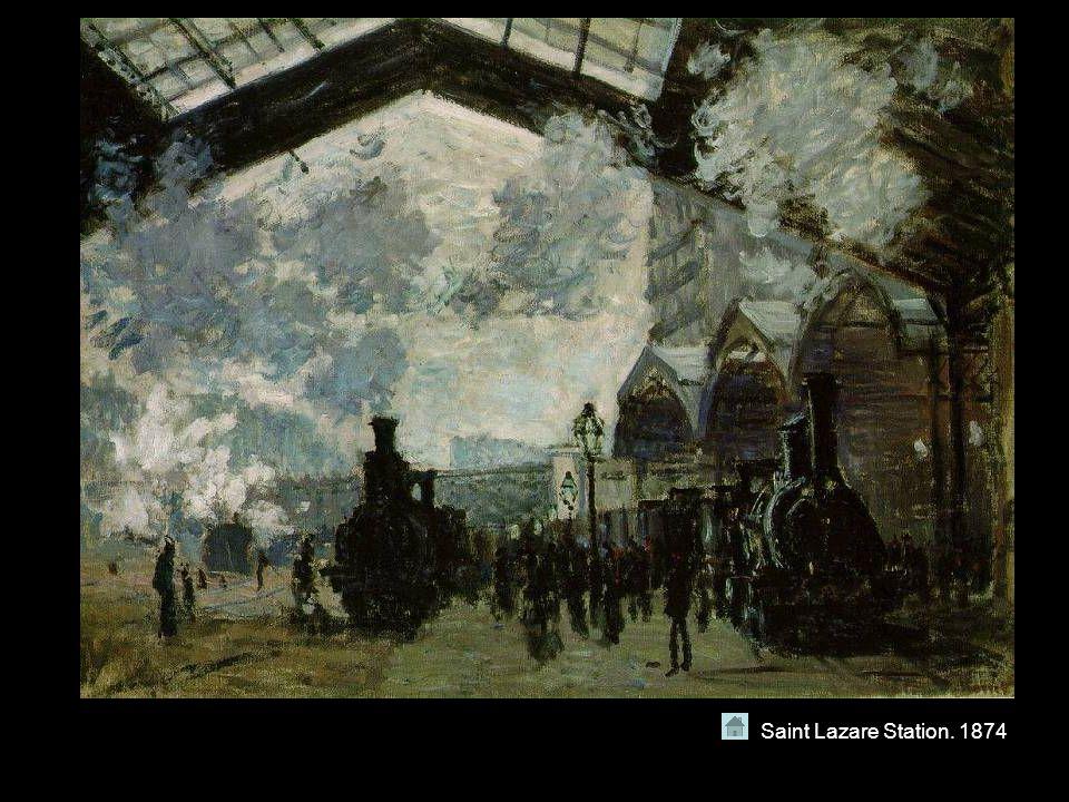Saint Lazare Station. 1874