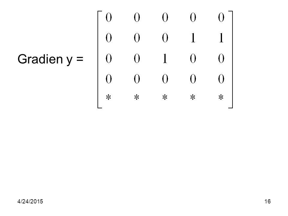 Gradien y = 4/24/201516