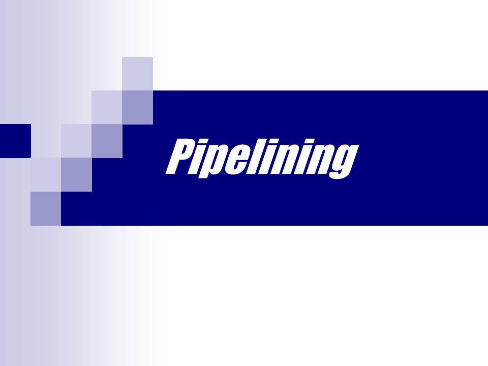 Event Penghambat Pipelining 5.Perbedaan jumlah tahapan/stage (branch penalty) dengan cycle time 4.