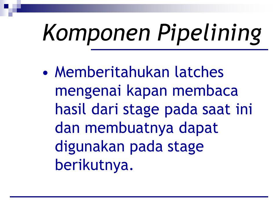 Komponen Pipelining 3.