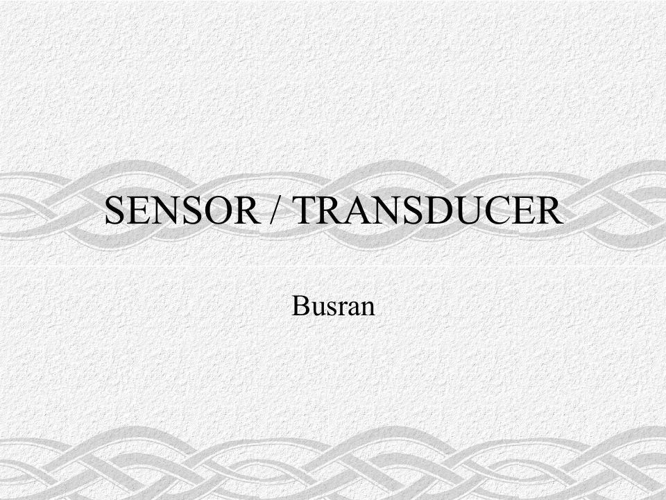 SENSOR / TRANSDUCER Busran