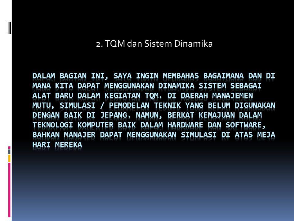 2. TQM dan Sistem Dinamika