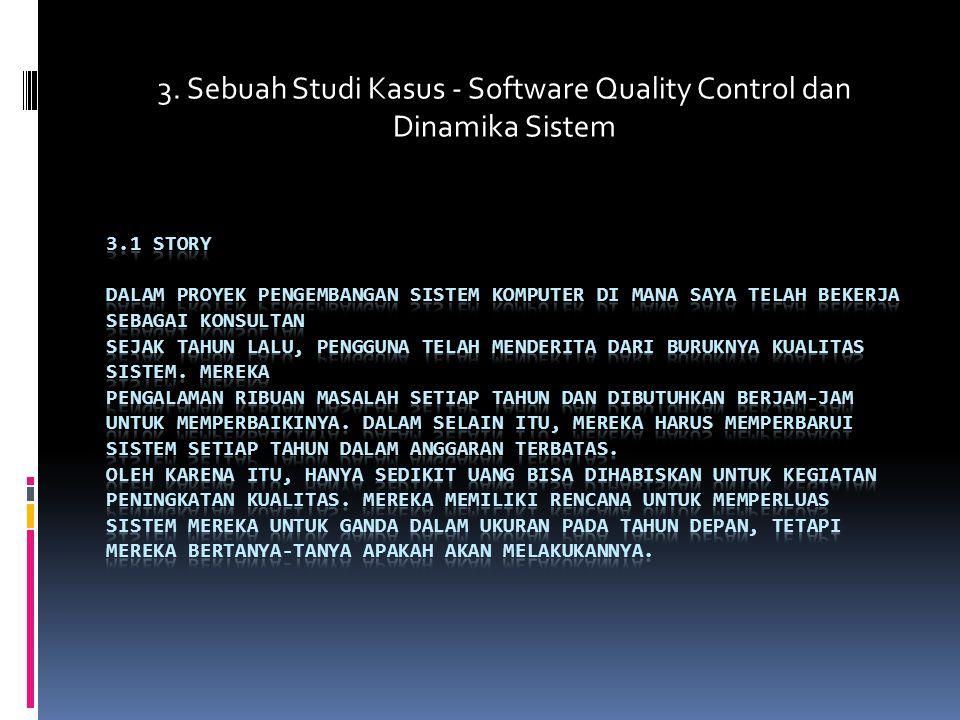 3. Sebuah Studi Kasus - Software Quality Control dan Dinamika Sistem