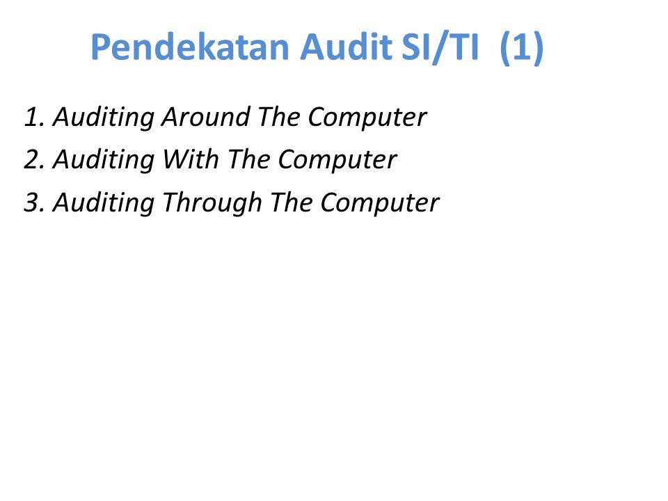 Pendekatan Audit SI/TI (1) 1. Auditing Around The Computer 2. Auditing With The Computer 3. Auditing Through The Computer