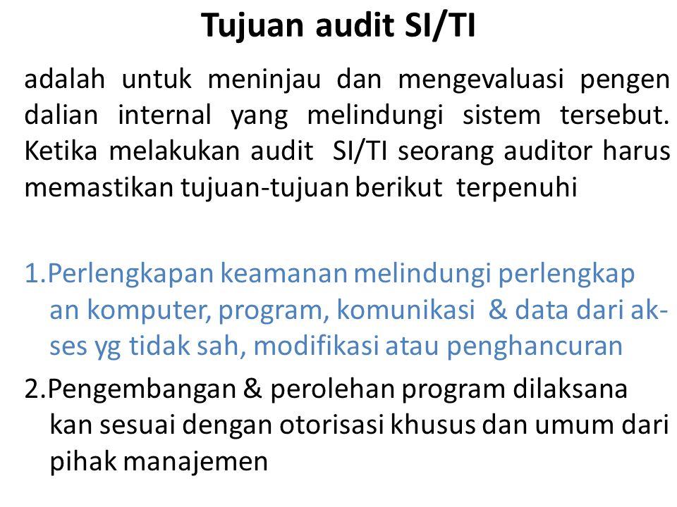 23 Pendekatan Audit SI/TI (3)