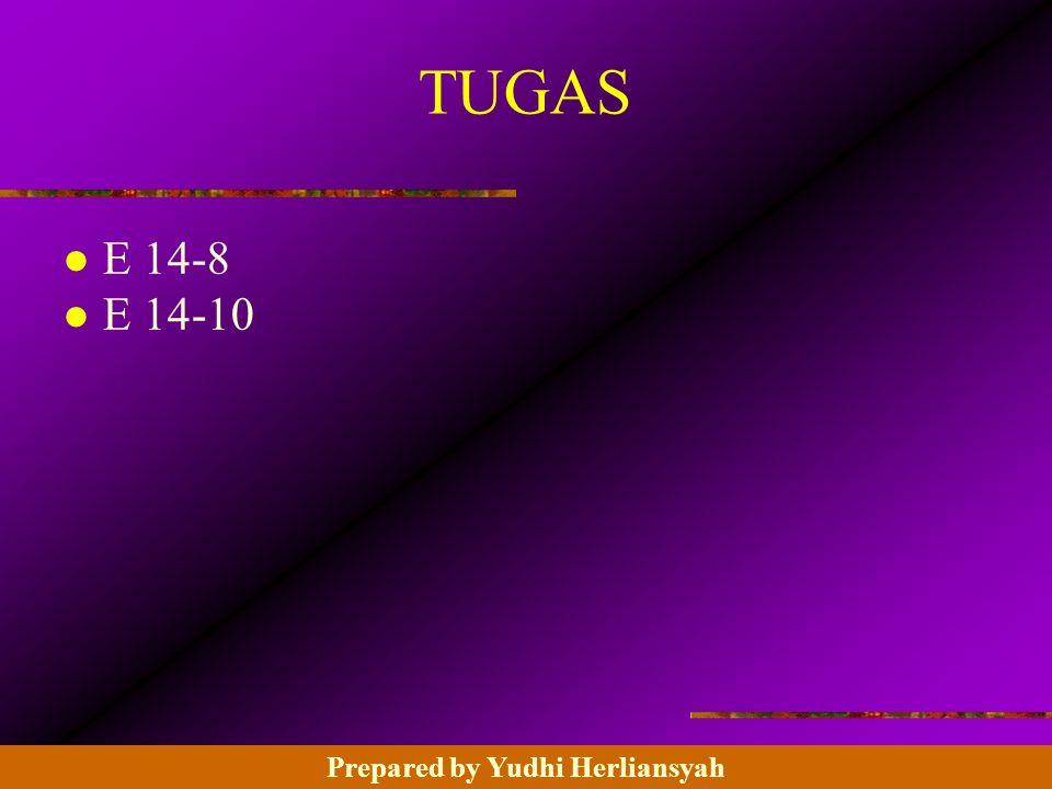14 - 24 ©2003 Prentice Hall Business Publishing, Advanced Accounting 8/e, Beams/Anthony/Clement/Lowensohn TUGAS l E 14-8 l E 14-10 Prepared by Yudhi Herliansyah