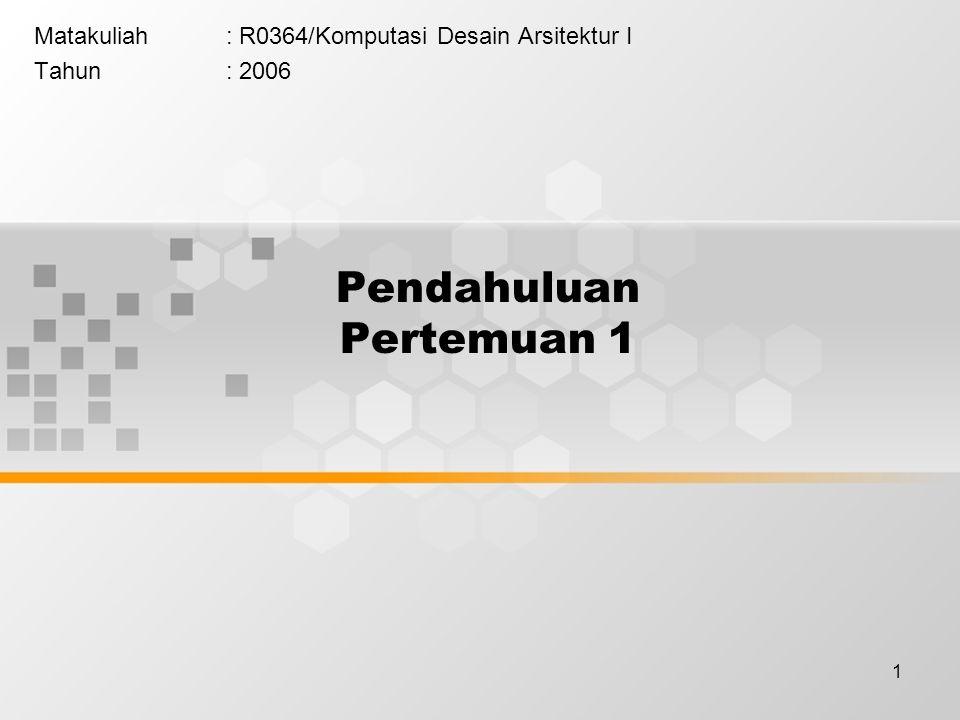 2 Elemen – elemen utama Autocad merupakan sebuah program handal untuk membuat rancangan gambar teknik.