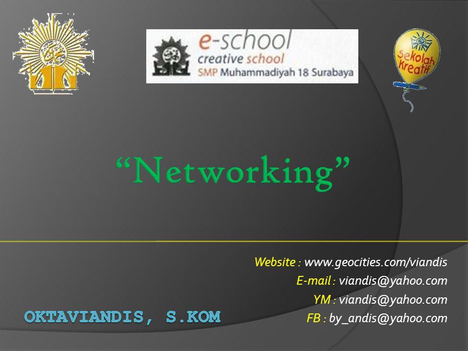Website : www.geocities.com/viandis E-mail : viandis@yahoo.com YM : viandis@yahoo.com FB : by_andis@yahoo.com