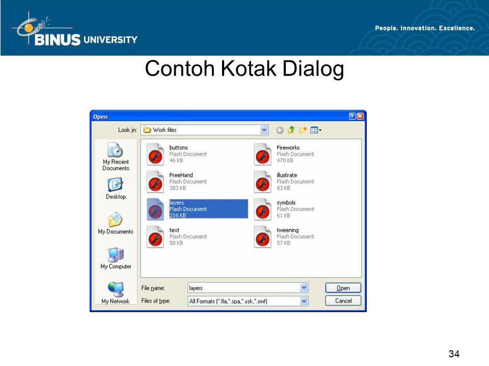 Contoh Kotak Dialog 34
