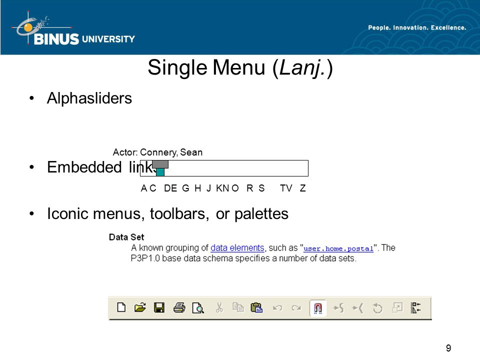 Linear Sequences & Multiple Menus 10