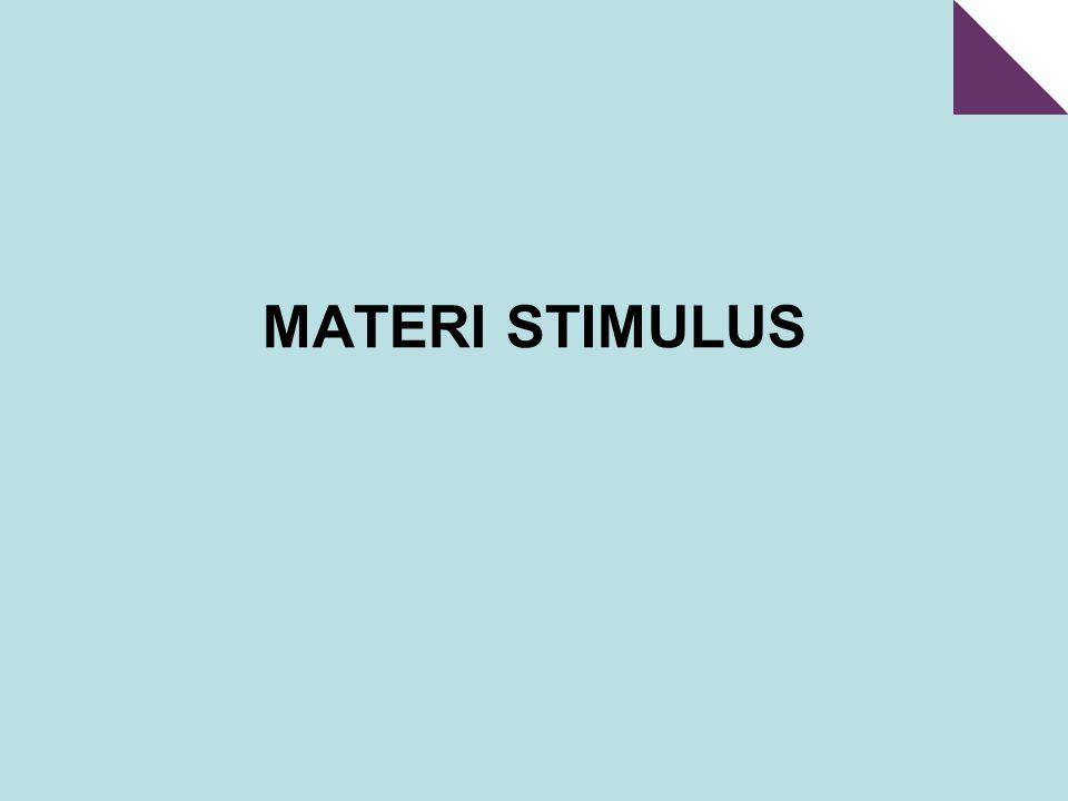 MATERI STIMULUS