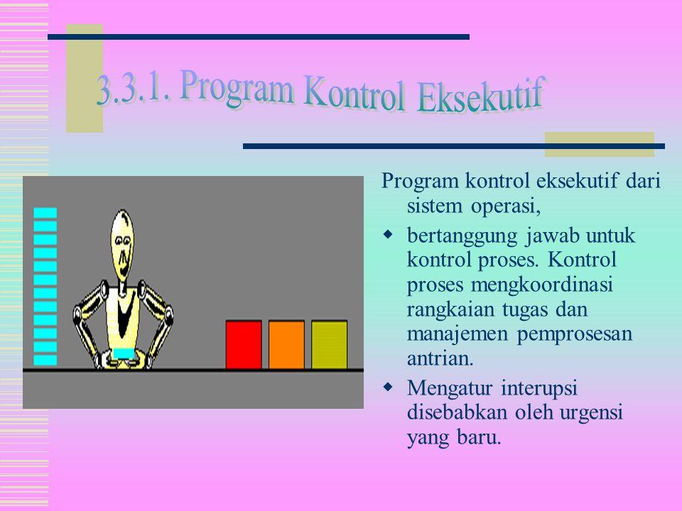  Sistem operasi menghubungkan software user dengan hardware.