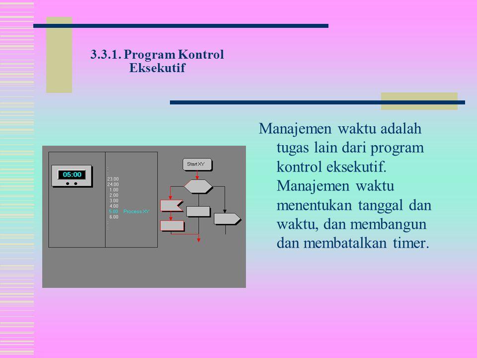 Program kontrol eksekutif dari sistem operasi,  bertanggung jawab untuk kontrol proses.