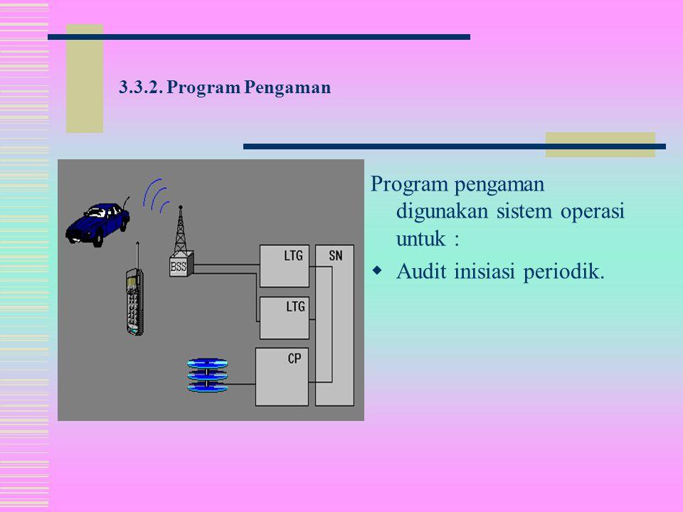Tugas pengaman pertama dari sistem operasi adalah untuk membangun suatu konfigurasi sistem fungsional.