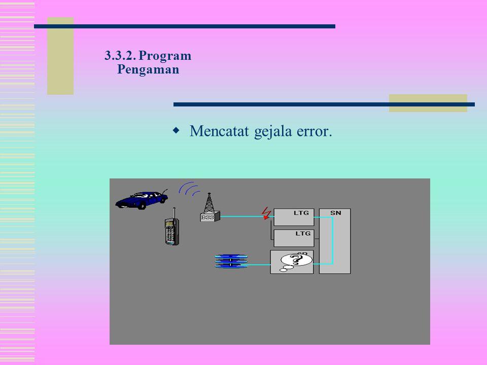 3.3.2. Program Pengaman  Mengevaluasi alarm dan pesan pengaman.