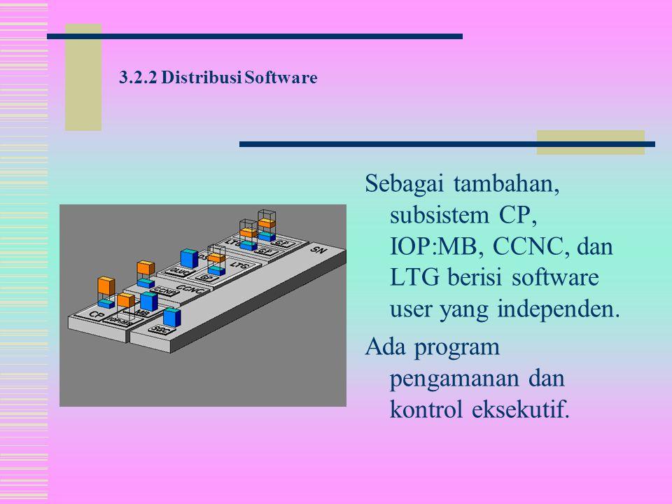Tiap subsistem kecuali IOP:MB, tersedia dengan bagian firmware tersendiri.