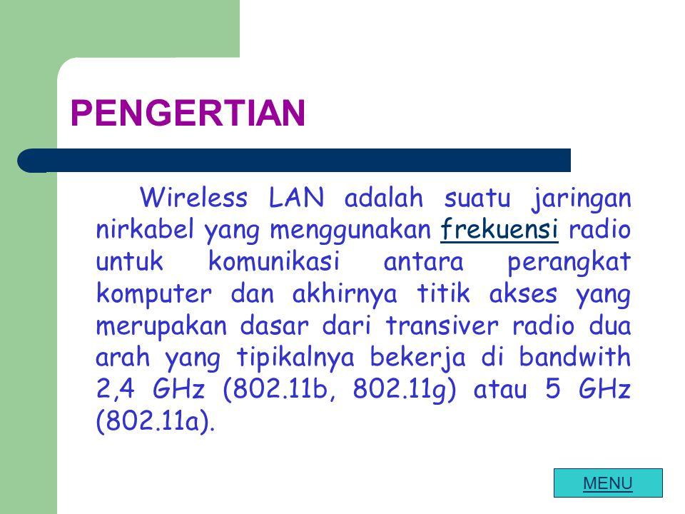FREKUENSI Untuk mengirimkan data menggunakan komunikasi radio ada beberapa cara yaitu : a.