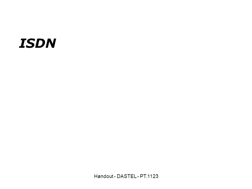 Handout - DASTEL - PT.1123 ISDN