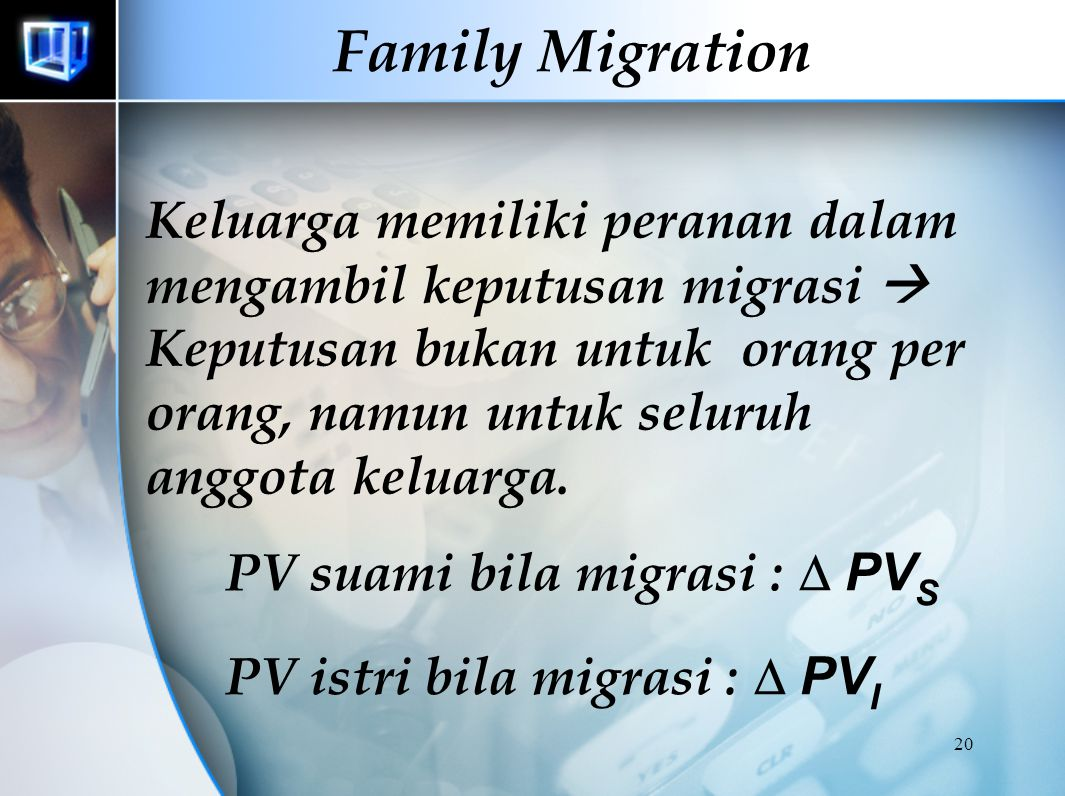 19 Family Migration