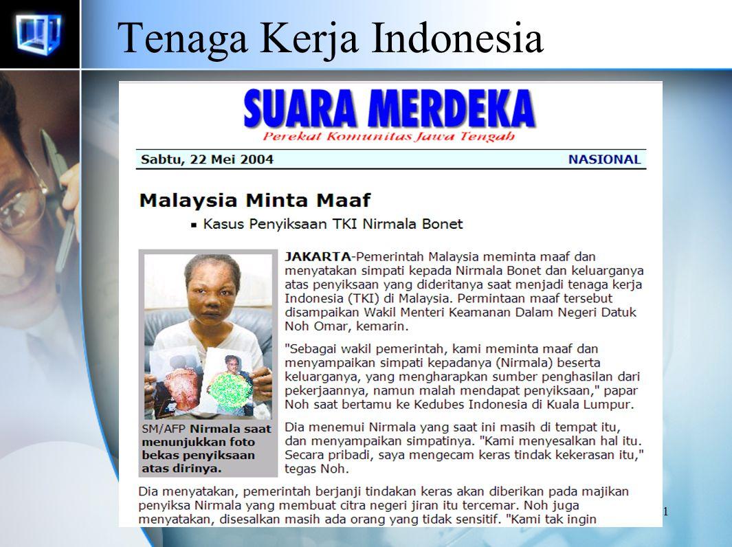 40 Tenaga Kerja Indonesia