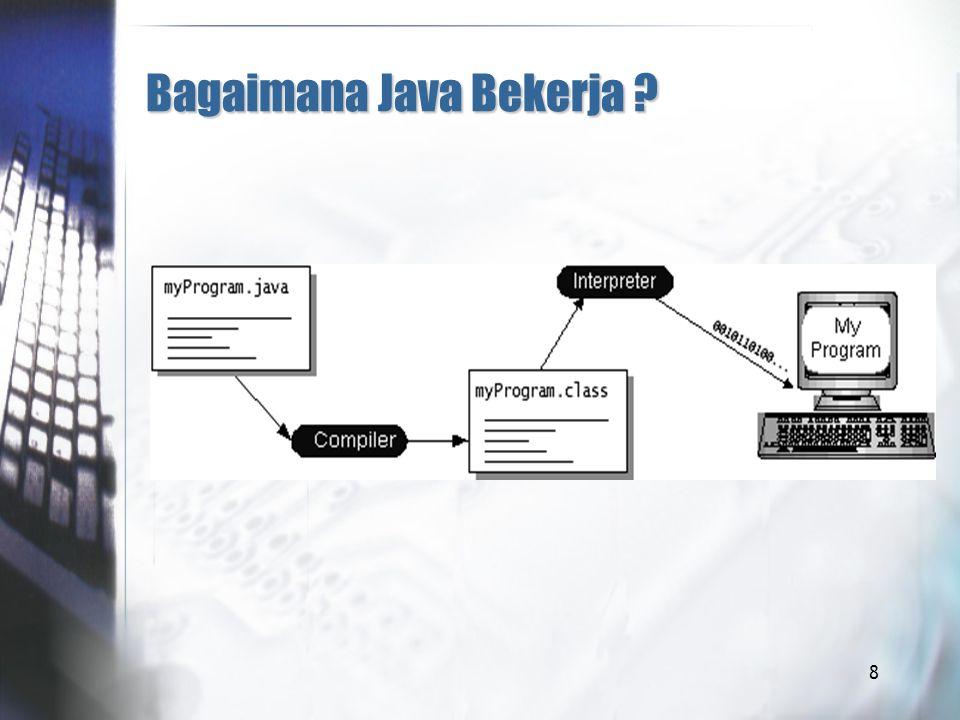 8 Bagaimana Java Bekerja ?
