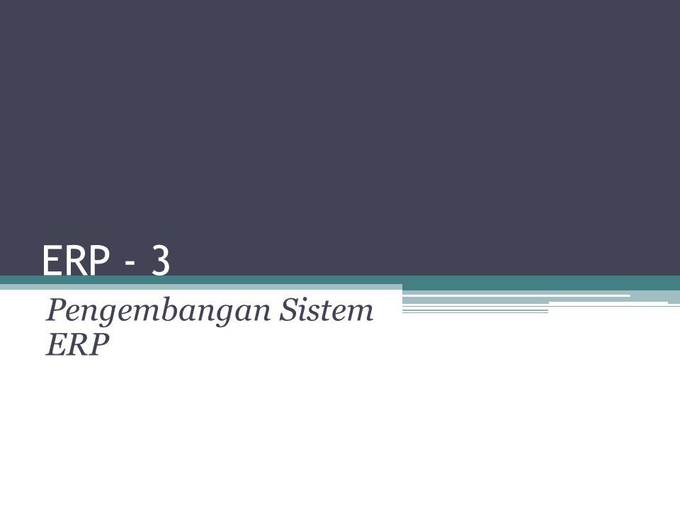 Dorongan manajemen untuk Mengadopsi ERP 12