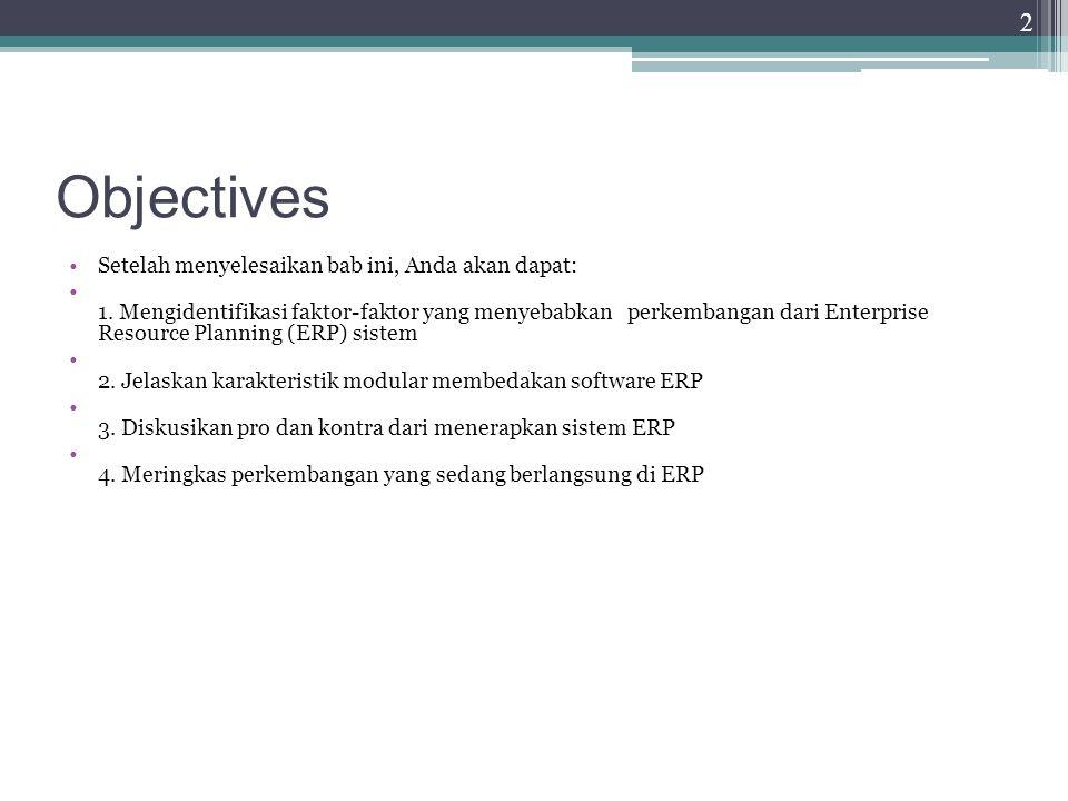 Implementasi Software SAP ERP Fitur SAP ERP ▫Software pertama yang bisa memberikan real- time integrasi ERP ▫Kegunaan oleh perusahaan-perusahaan besar ▫biaya tinggi ▫Otomatisasi update data ▫Applicability of best practices ▫Praktik terbaik: desainer perangkat lunak SAP memilih yang terbaik, cara yang paling efisien di mana proses bisnis harus ditangani 23