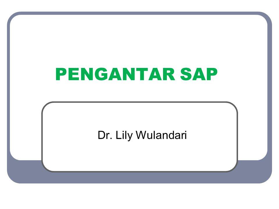 PENGANTAR SAP Dr. Lily Wulandari