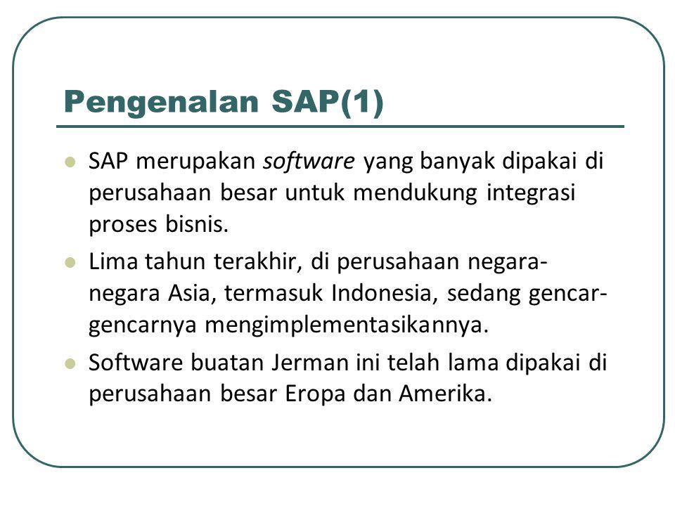 Kedudukan Third party Sangat mungkin menggunakan fasilitas SAP untuk melakukan archive data.
