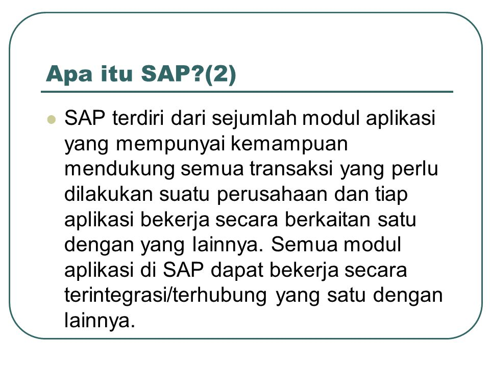 SAP Data Archiving (5) Setiap bulan, oleh financial dilakukan month end closing, sebuah proses tutup buku bulanan.