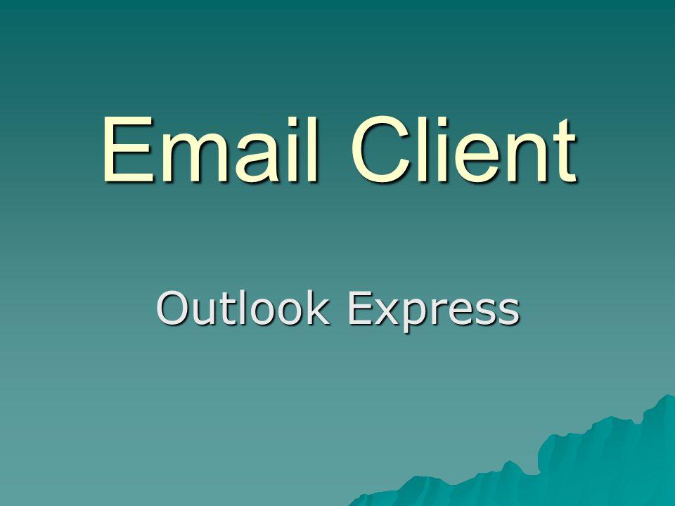 Apa itu Outlook Express...