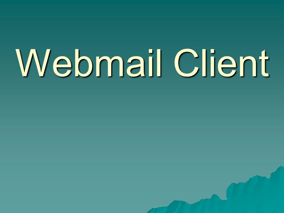 Webmail Client