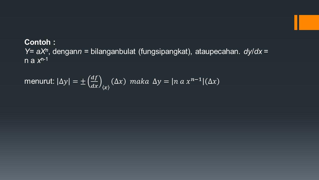 Cara membaca hasil pengukuran : 01 2 cmcm 3 4 Skala utama 05 10 15 0 Skala nonius su = 10 mm sn = 8 p = 10 mm + (8 x 0,05 mm) = 10,40 mm p = su + (sn x least count) benda
