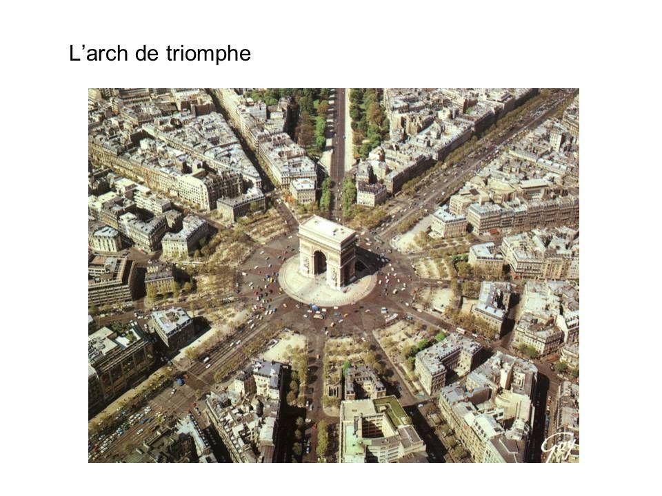 L'arch de triomphe