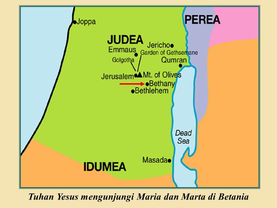 Judea Galilee ChildhoodPereaJerusalem  Murid-murid Tuhan Yesus meminta agar Yesus mengajar mereka bagaimana berdoa.
