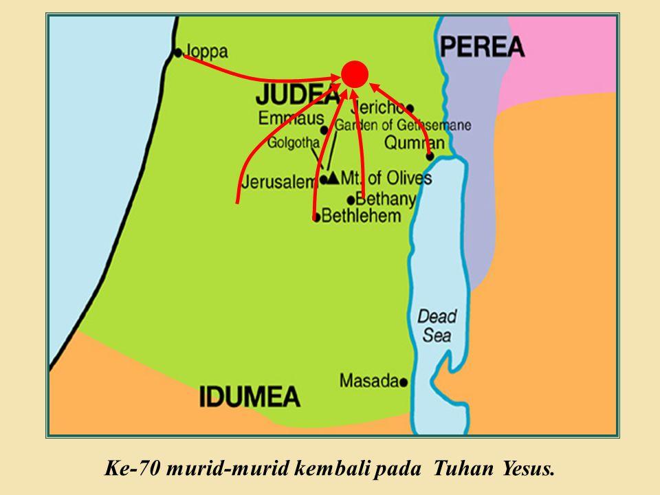 Judea Galilee ChildhoodPereaJerusalem  Seorang Ahli Taurat bertanya kepada Tuhan Yesus apa yang harus diperbuatnya untuk mendapat kehidupan kekal.