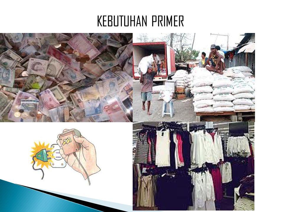 KEBUTUHAN PRIMER