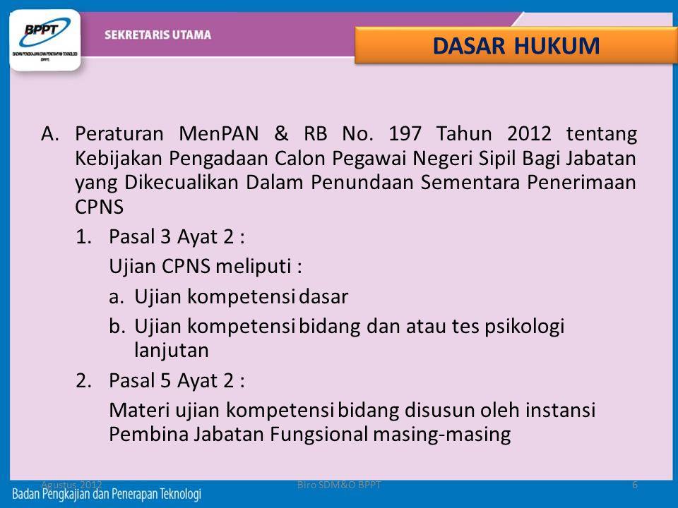 B.Lampiran Peraturan MenPAN & RB No.