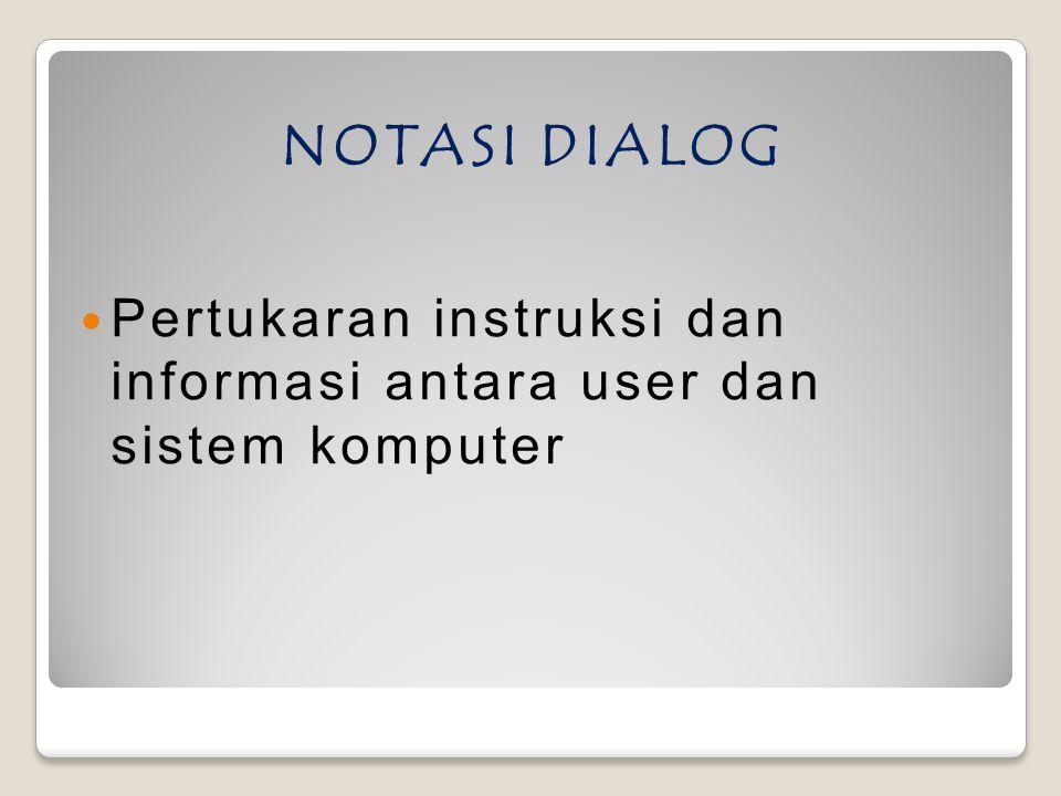 P ENGERTIAN DIALOG ADALAH SEBAGAI BERIKUT : Secara umum dilog dapat diartikanproses komunikasi antara dua atau lebih agen.