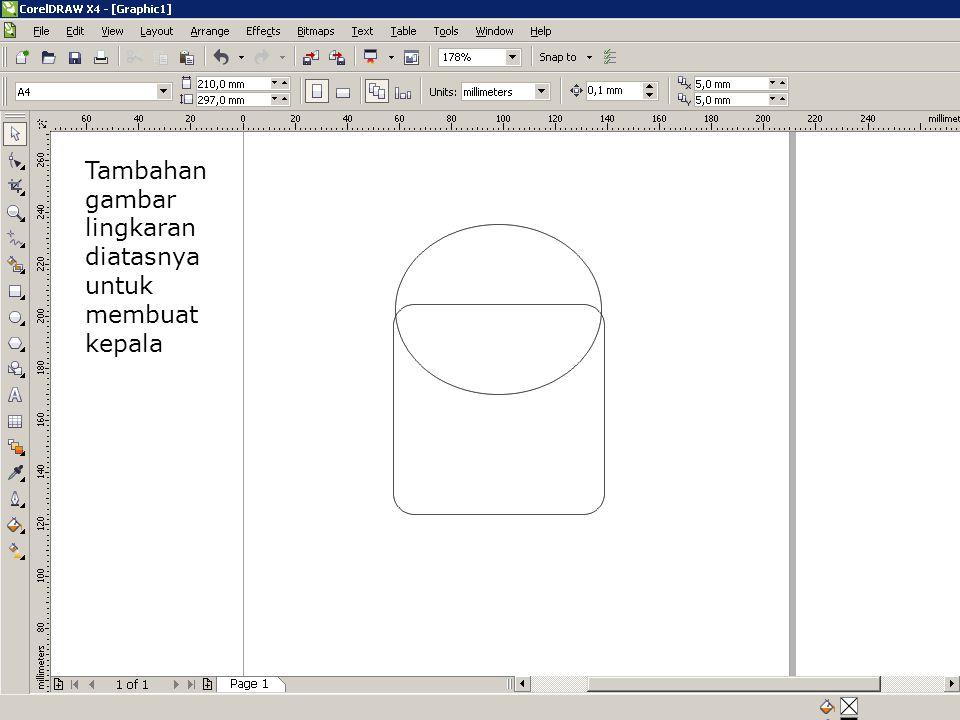 Diubah rectangl e corner