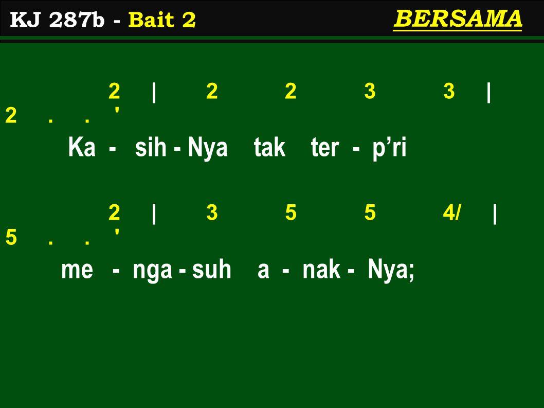 5 | 6 5 4 3 | 4.. to - long - an - Nya be - sar 3 | 2 1 1 7< | 1..
