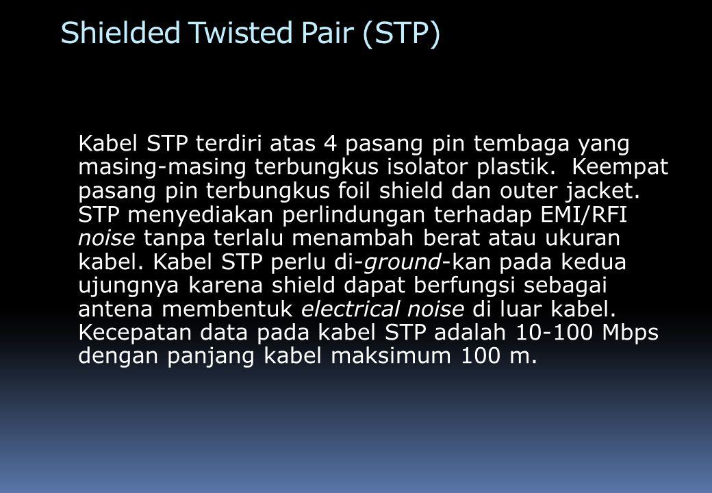 Gambar Kabel STP