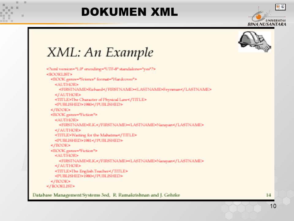 10 DOKUMEN XML