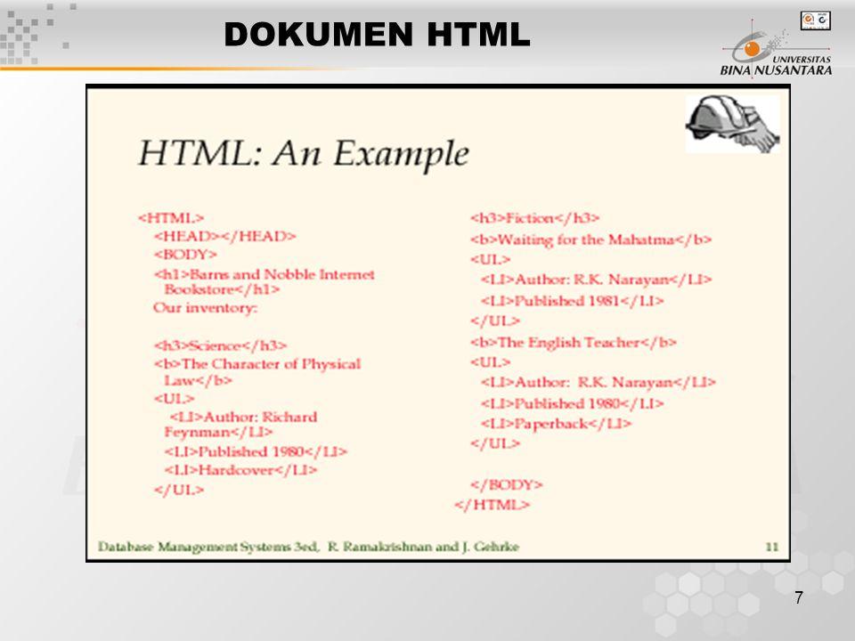 7 DOKUMEN HTML