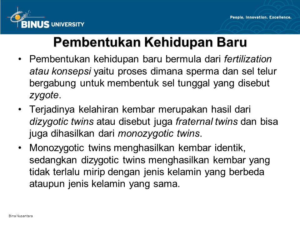 Bina Nusantara Mekanisme Herediter Dasar dari herediter adalah unsur kimia yang disebut deoxyribonucleic acid (DNA).