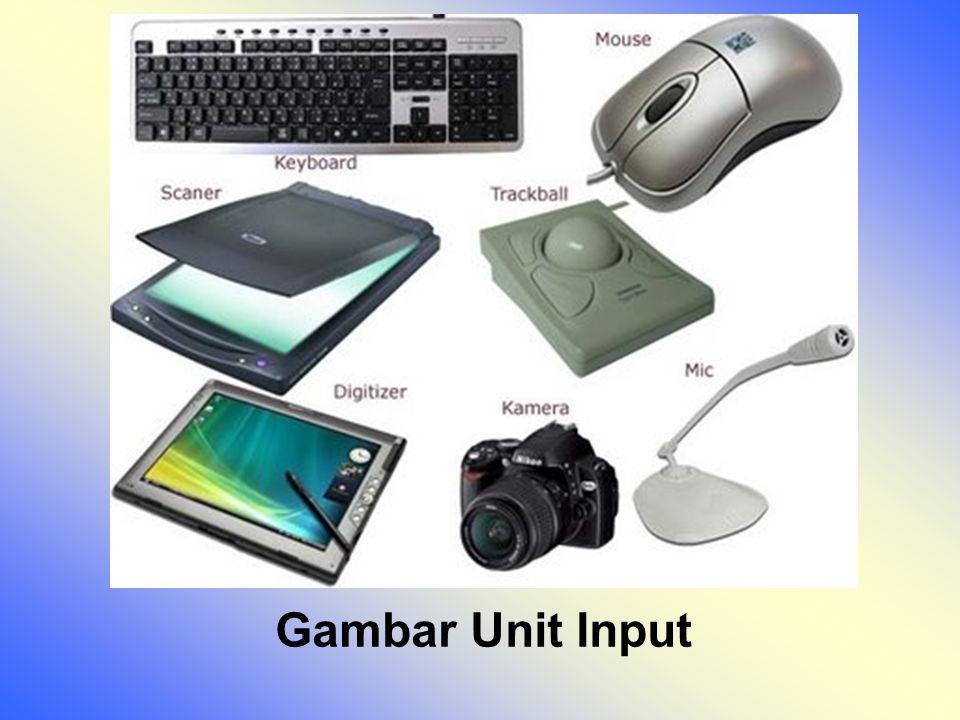 Gambar Unit Input