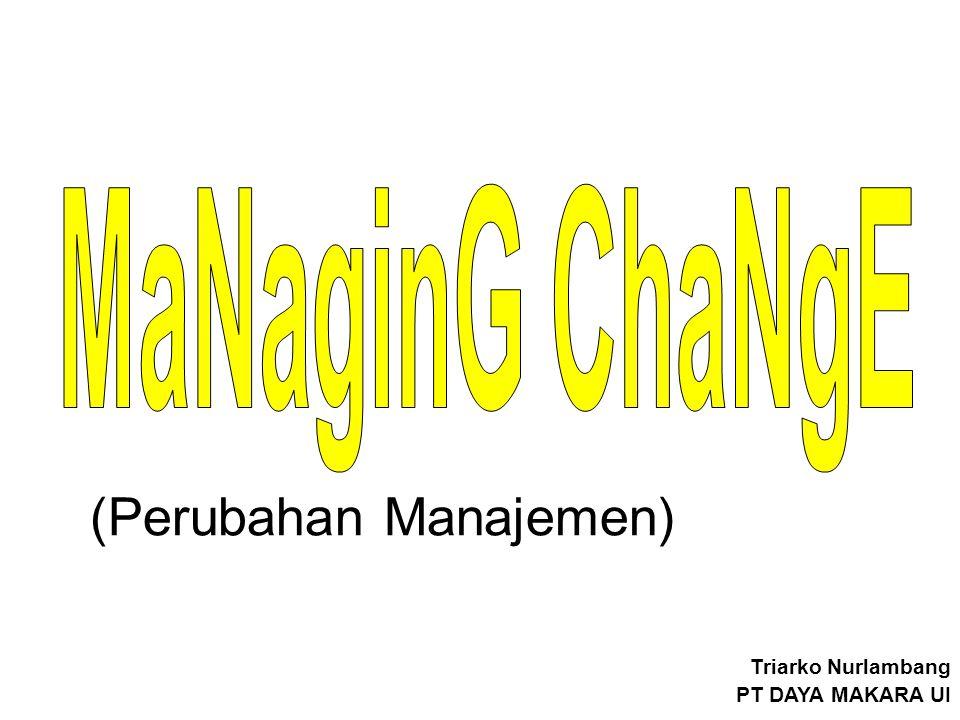 (Perubahan Manajemen) Triarko Nurlambang PT DAYA MAKARA UI