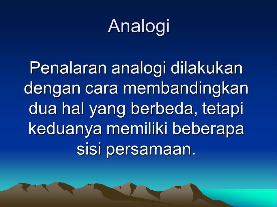 Silogisme negatif Silogisme negatif adalah sebuah silogisme yang salah satu premisnya bersifat negatif.