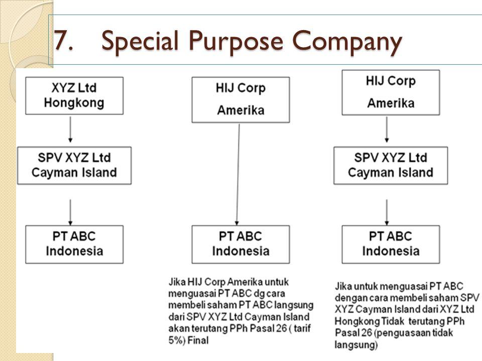 7.Special Purpose Company
